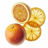 Orange and orange slices