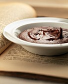 Cooked chocolate mousse
