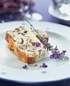 Cod and mushroom savoury cake