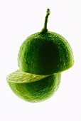 Halved lime