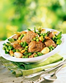 Lamb Navarin with spring vegetables