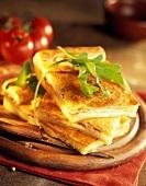 Reblochon cheese pie