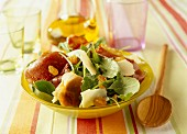Rocket and Serrano ham salad