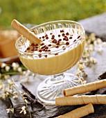 Mont-Blanc cream dessert