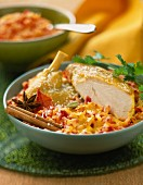 Exotic risotto with chicken