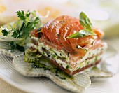 Salmon and Fromage frais terrine