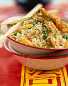 Lemon chicken with cantonese rice