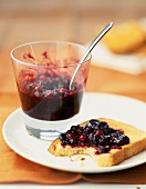 Summer fruit jam