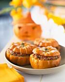 Mini stuffed pumpkins