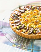 Mirabelle and Quetsche plum tart