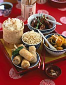 Chinese platter