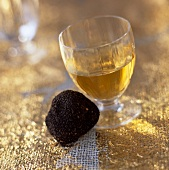 Truffle and liqueur wine