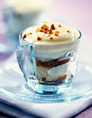 Gingerbread and pear tiramisu