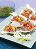 Tuna carpaccio