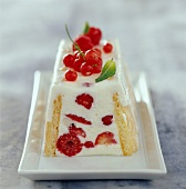 almond and summer fruit charlotte