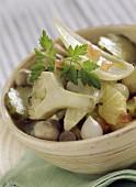 Greek-style vegetables