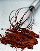 Chocolate powder and whip