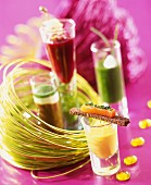 festive verrine delicacies