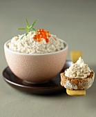 Potted smoked trout