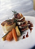 duck breast with holy mother of pearl