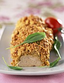 Pork filet mignon in oat crust