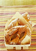 Fougasses with cracklins