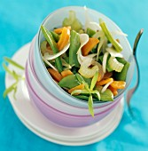 Runner bean salad