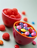 Smarties and Tagada strawberry candies