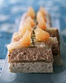 Salmon, sole and fennel terrine
