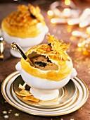 mushroom and truffle soup