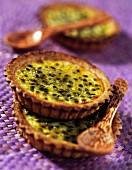 passion fruit tartlet