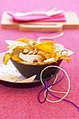 Pumpkin and pear salad