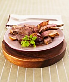 Duck with figs