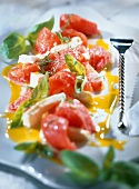 tomato and basil salad (topic: salads)