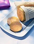 Bloc of foie gras ( topic : foie gras)