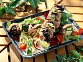 Duck with prunes ( topic : brochettes)