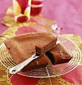 Rum chocolate cake