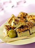 Oliven-Frittata mit Kreuzkümmel