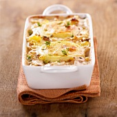 potato and goat's cheese bake (topic: bakes)