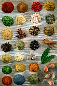 Composition of spices and herbs
