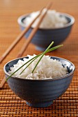 Bowls of rice