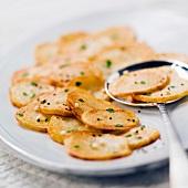 Pan-fried potatoes à la salardaise