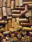 Alte Weinkorken