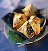 Minced meat and prune pies