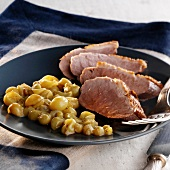Chasselas duck fillets