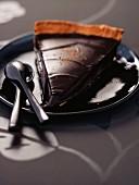 Chocolate and tonka tart
