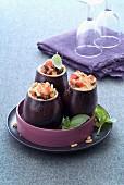Eggplant crumble