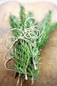 Branches of rosemary