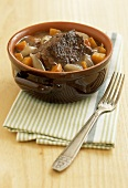Beef and carrot stew