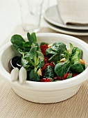 Purslane and beetroot salad